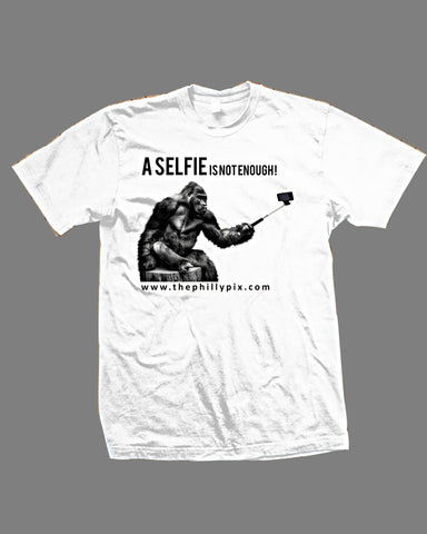 A Selfie Is Not Enough Premium Fit Crew T-Shirt