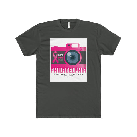 Shoot Cancer Down Men's Premium Fit Crew T-Shirt