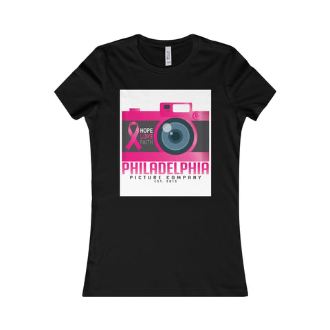 Shoot Cancer Down Women's Favorite Tee