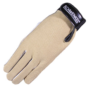 "Schwenkel Dinard Horse Riding Gloves with ""Tacky Leather Palm"""