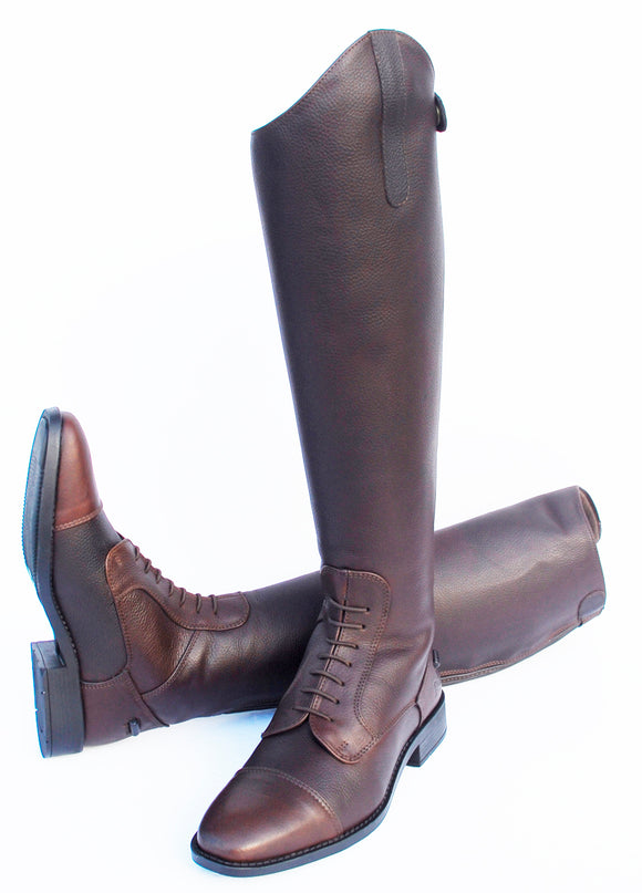 Rhinegold Elite Luxus Long Leather Riding Boot