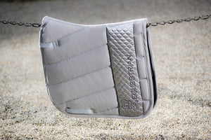 HKM 'Siena' Saddlecloth - Grey - Dressage / GP