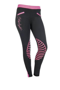 HKM Starlight Riding Leggings with silicone knee patch