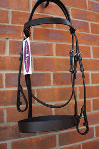 Plain Leather Hunter Bridle
