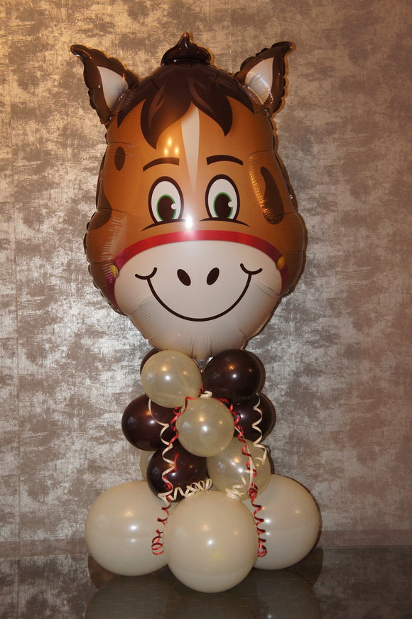 Horse Balloon Decoration  -  Large 'Hilarious' Animated Horse