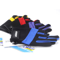 Owner Anti-slip Fishing Gloves anti-cut with Imported sheepskin fingerless fishing gloves with cut three