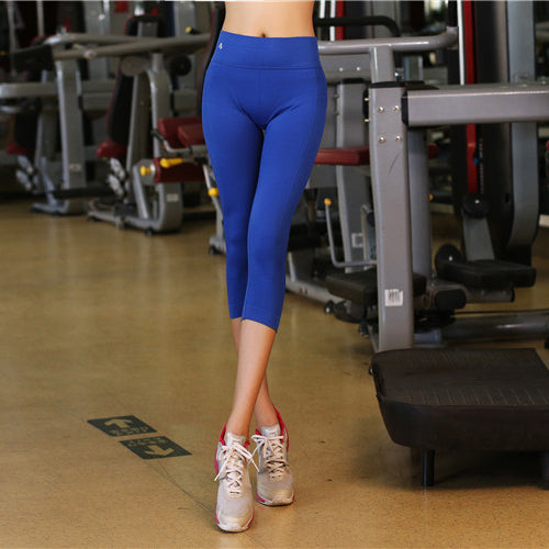 B.BANG 2017 Women Sport Pants Yoga Workout Fitness Sports Leggings for Women and Girl Elastic Legging Yoga Trousers Pants S/M/L