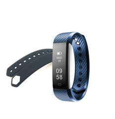 Tiandirenhe Fitness Tracker ID115 HR Heart Rate Monitor Smart Bracelet Activity Monitor Band Alarm Clock Wristband For xiaomi
