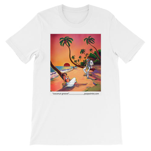 Coconut Groove Short-Sleeve Unisex T-Shirt