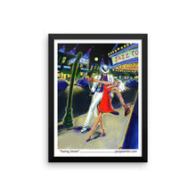 Swing Street Framed photo paper poster