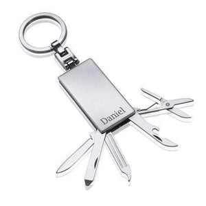 Engraved Tool Set Keyring,