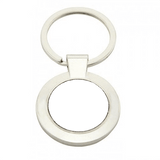 Personalised Circle Photo Keyring,