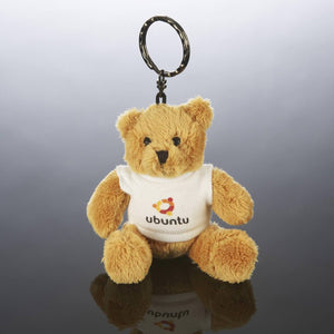 Personalised Photo Teddy Bear Keyring