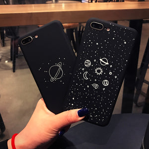 Cartoon Airship Stars Case