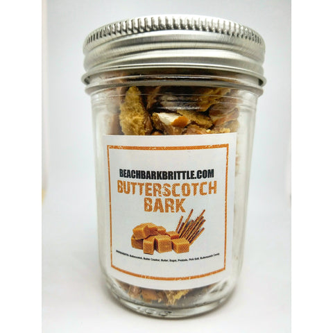 Bits of Bark Ball Jar - Butterscotch