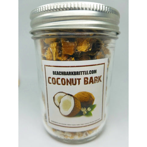 Bits of Bark Ball Jar - Coconut