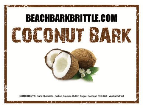 Coconut Bark - 1/2 & 1 lb Boxes