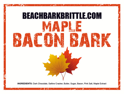1/2 lb Valentines Day Gift Tin - Maple Bacon Bark