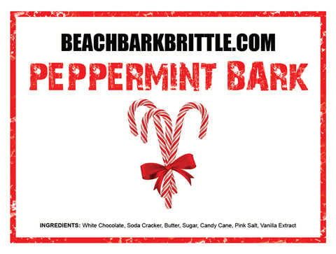Peppermint BEACH BARK™ - 1/2 & 1 lb Gift Boxes