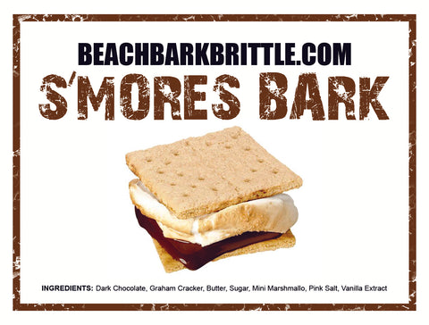S'Mores BEACH BARK™ - 1/2 lb & 1 lb Boxes