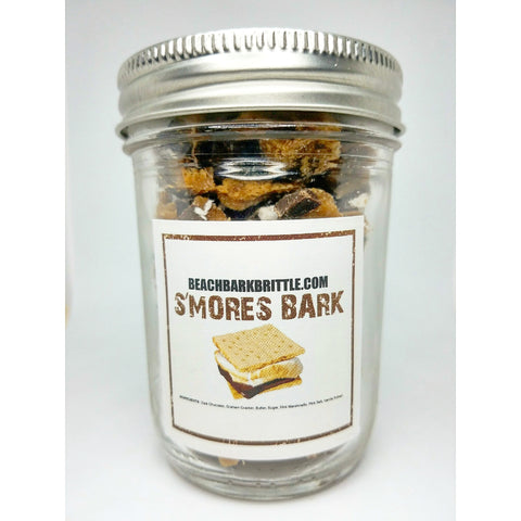 Bits of Bark Ball Jar - S'mores