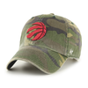 Toronto Raptors Camo NBA '47 Clean Up Dad Cap