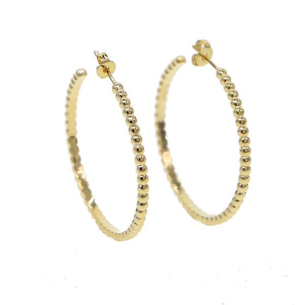 Sophie Ball Hoop Earrings