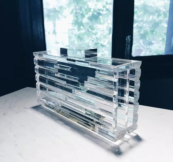 Lucite Clutch - LIMITED STOCK