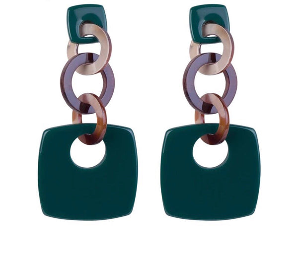 Miro Dangle Hoop Earrings