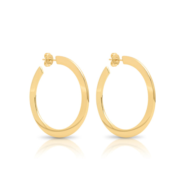 Jewelry - Classic Gold Hoop Earrings