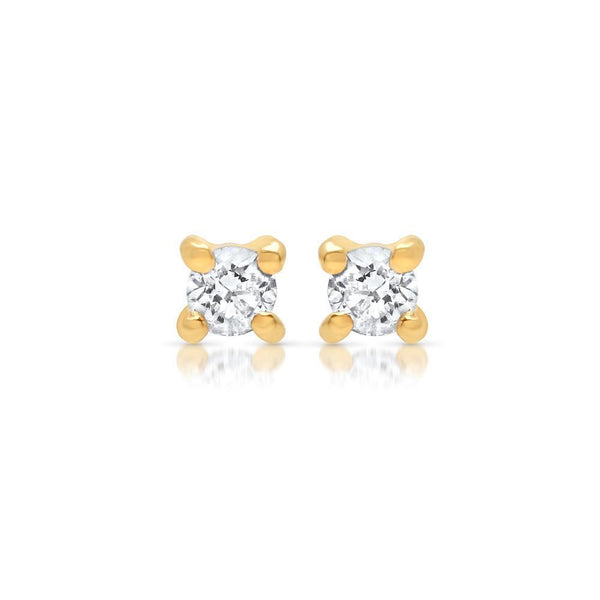 Jewelry - Tiny Diamond Stud Earring