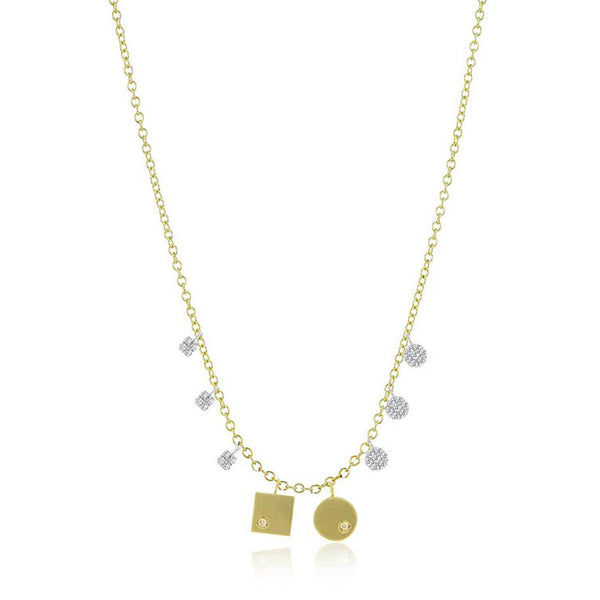 Hannah Disc Necklace
