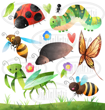 Bug Graphics Set