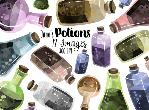 Potion Graphics Set