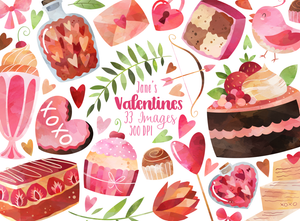 Valentines Day Graphics Set