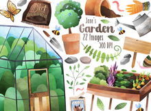 Gardening Graphics Set