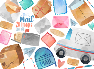 Postage Graphics Set