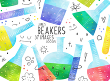 Beakers Graphics Set