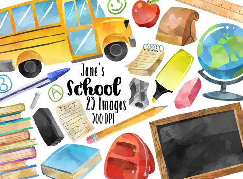 School Graphics Set