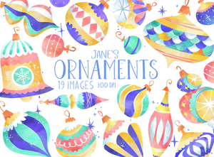 Ornaments Graphics Set