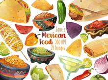 Mexican Food Graphics Set