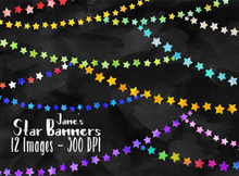 Star Banner Graphics Set
