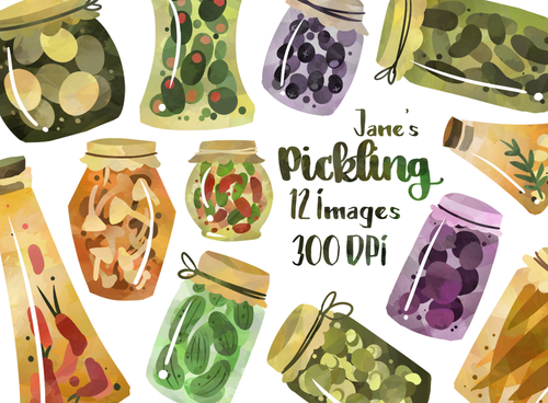 Pickling Graphics Set