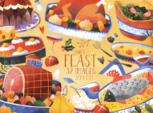 Feast Graphics Set
