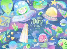 Aliens Graphics Set