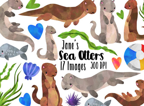 Otter Graphics Set