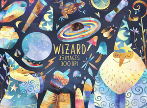 Wizard Graphics Set