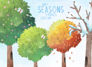 Seasons Graphics Set