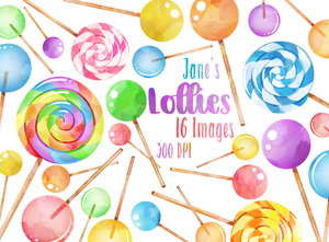 Lollipop Graphics Set
