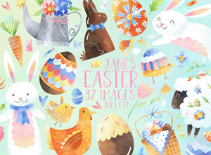 Easter Graphics Set